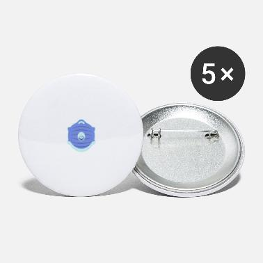 Mouth and face protection - Large Buttons
