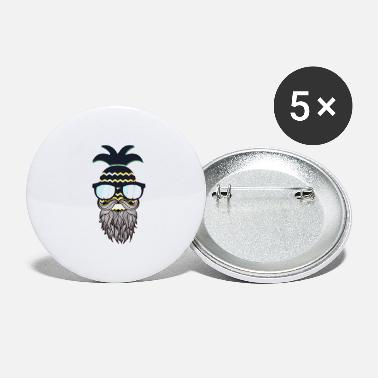 Glass Underwear Funny perfect hipster pineapple - Large Buttons