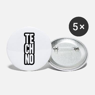 Techno Music Techno Music Design - Buttons groot