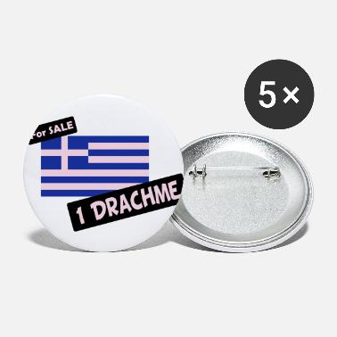 Financial Crisis Greece - Large Buttons