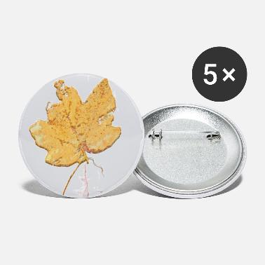Leaf Maple Leaf Maple Leaf Leaf Leaves Herfst Herfst - Buttons groot
