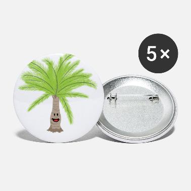 Palm Trees Palm palm trees Palm tree - Large Buttons