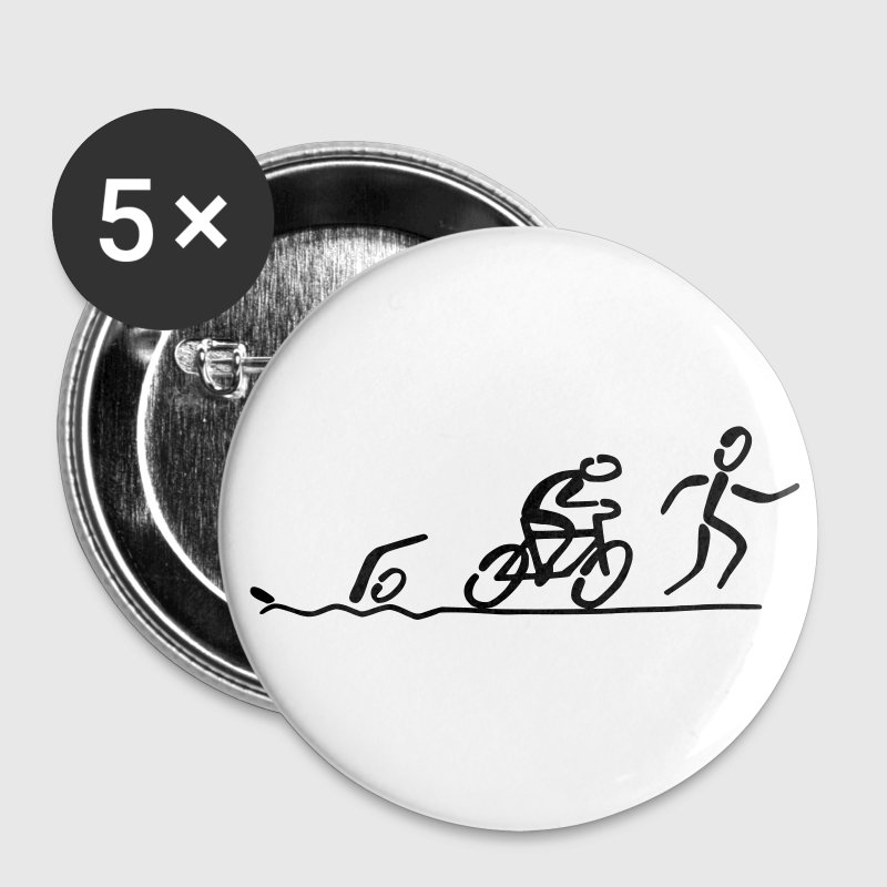 Triathlon - Buttons large 56 mm
