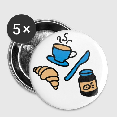 breakfast - Badge grand 56 mm