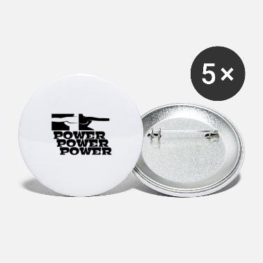 Power POWER POWER POWER - Large Buttons