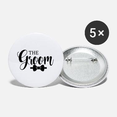 Groom The Groom - Large Buttons
