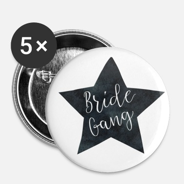 Celibenubile bride_gang_black_star - Spilla grande 56 mm