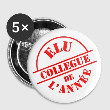 # Collègue # - Badge grand 56 mm