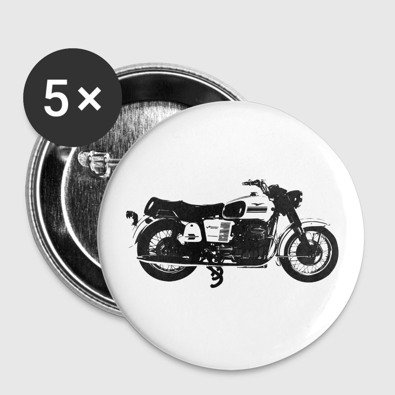 Moto Guzzi - Buttons groot 56 mm