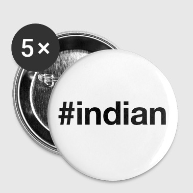 INDIEN - Buttons/Badges stor, 56 mm
