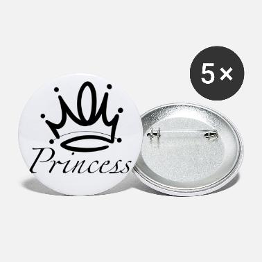 Prince Princesse - Princesse - Grands badges