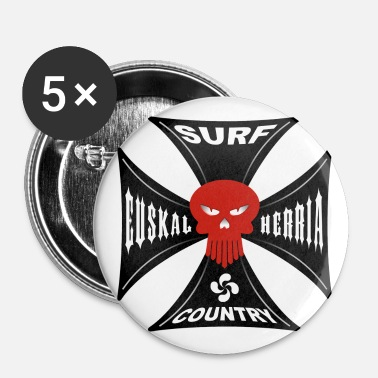 Country surf country - Badge grand 56 mm