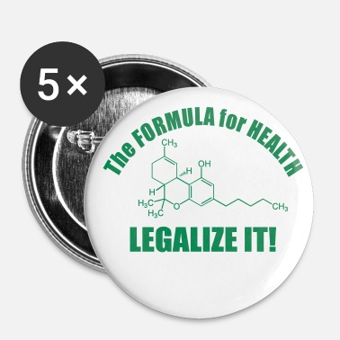 Health The Formular for Health - Badge grand 56 mm