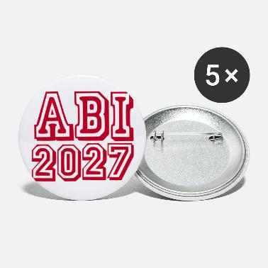 Gymnasium Abi 2027 - Baby - Buttons groß