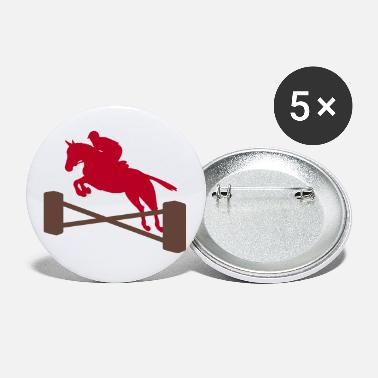 Show Jumping show jumping - Large Buttons