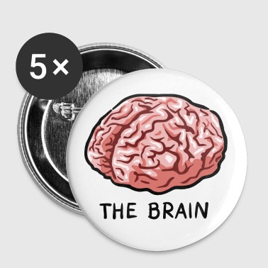 THE BRAIN - Buttons groß 56 mm