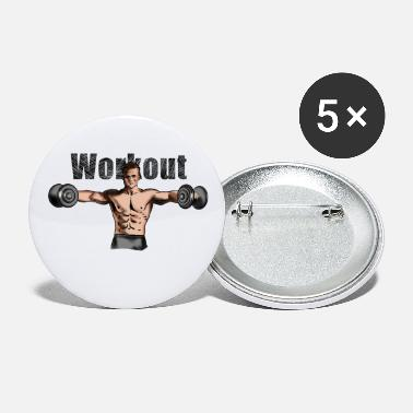 Workout workout - Buttons groot