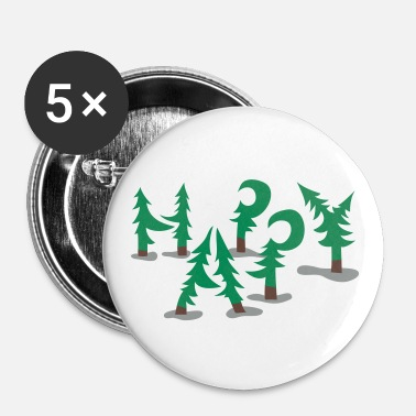 Happy Trees - Buttons groß 56 mm