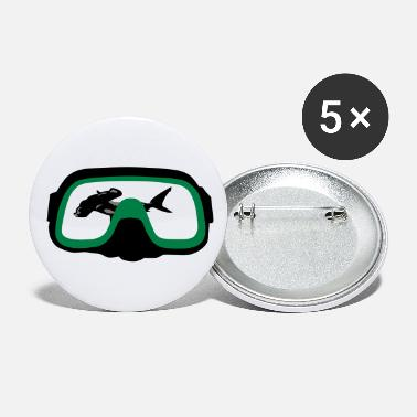 Maske diving Mask - Store buttons