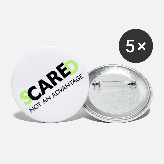 Quote Buttons - sCAREd - Large Buttons white