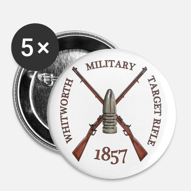 Target MILITARY TARGET RIFLE - Badge grand 56 mm