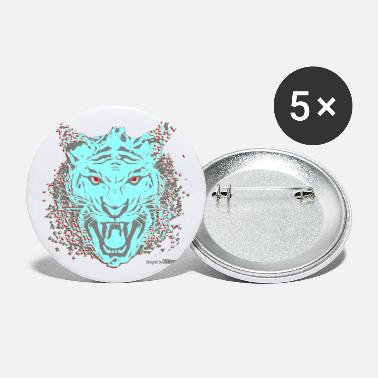 Tiger design style - Large Buttons