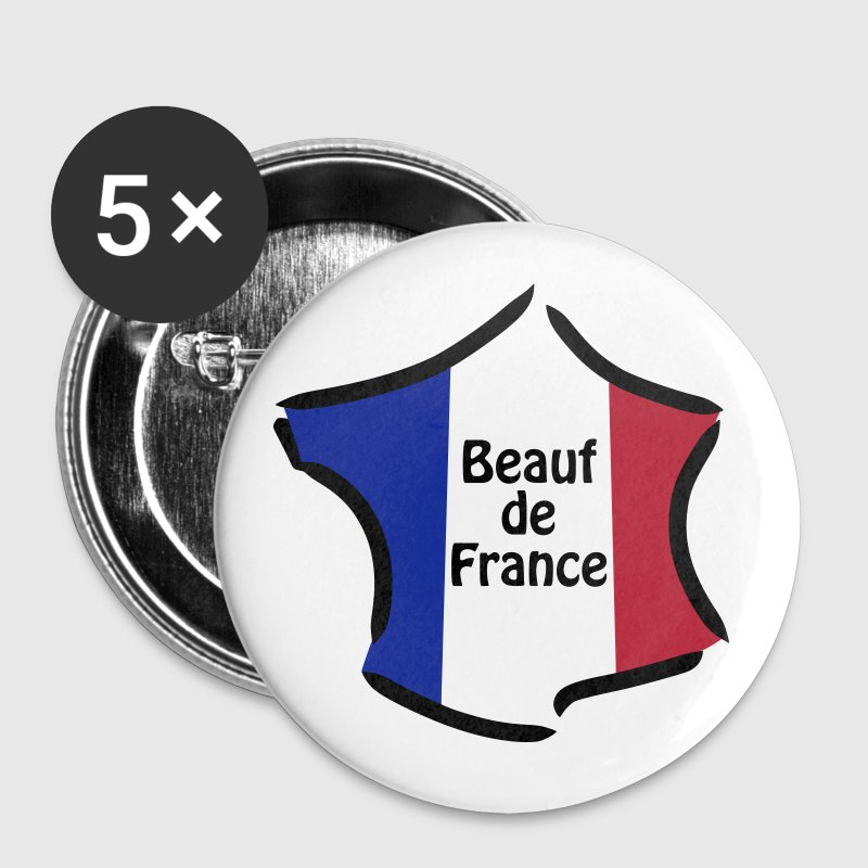 Beauf de France - Badge grand 56 mm