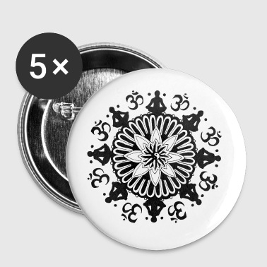 Om Mandala - Buttons large 56 mm
