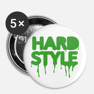 hardstyle techno music - Buttons groß 56 mm