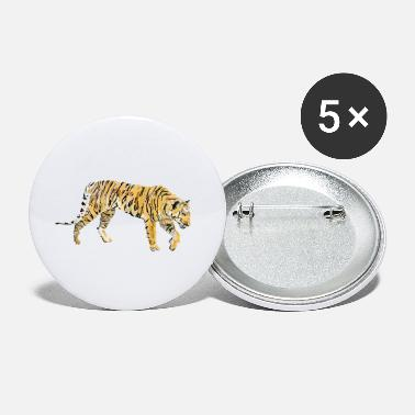 Stor Majestetisk tigermaling - Store buttons