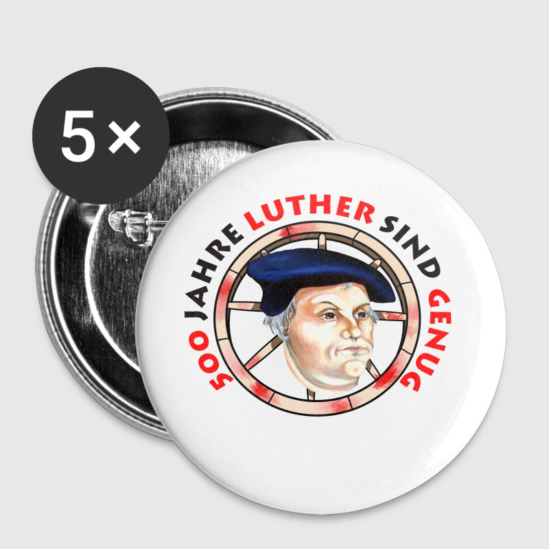 Luther - Buttons groß 56 mm