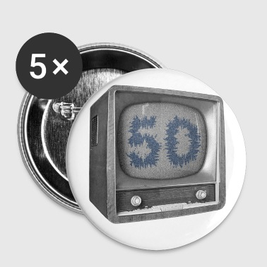 Anniversaire 50 ans - Badge grand 56 mm