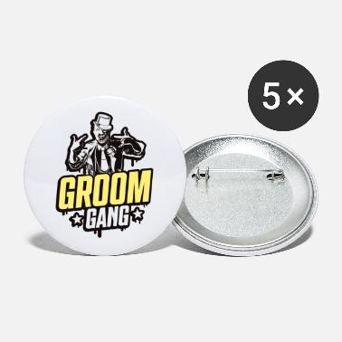 Bachelor Party Bruidegom bende vrijgezellenfeest - Buttons groot