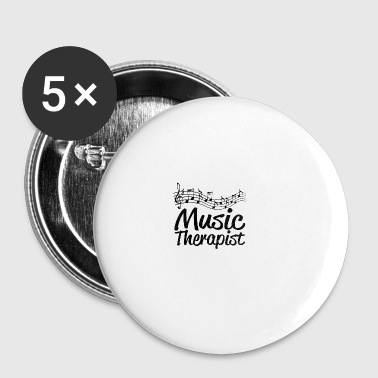 Music therapist - Buttons large 56 mm