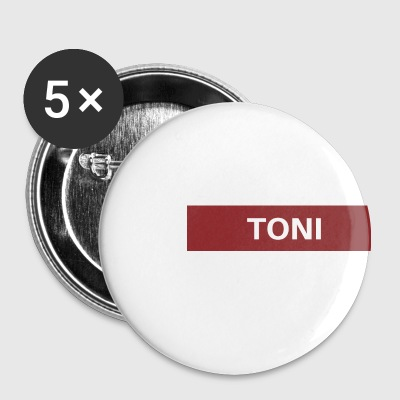 Toni - Buttons groß 56 mm