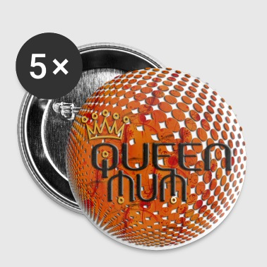 WORLD OF QUEEN MUM - Buttons groß 56 mm
