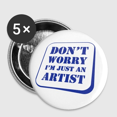 Worry Artist - Badge grand 56 mm