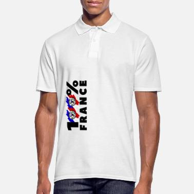 FOOT : 100% France - Polo Homme