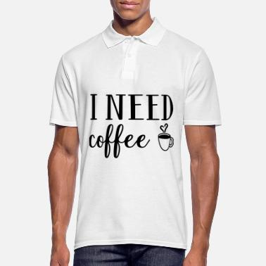 Café Café café tasse café café cadeau - Polo Homme