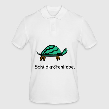 Turtle love turtle tanks love - Men's Polo Shirt