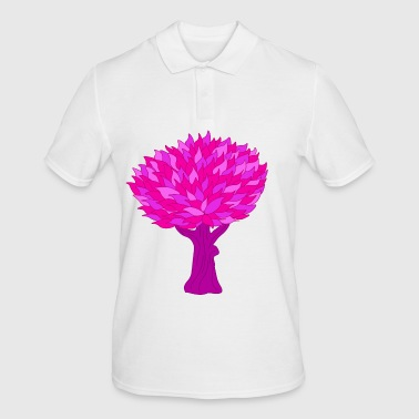 Tree pink - Men's Polo Shirt