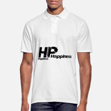 Happiness HP Happiness Happiness - Mannen poloshirt