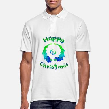 Tree Colorful Christmas trees Christmas Tree - Men's Polo Shirt