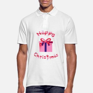 6a818fe1f Navidad Regalo de navidad feliz navidad - Camiseta polo hombre