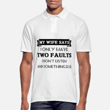 Wife wife - Men's Polo Shirt