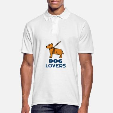 Dog Lover Dog lovers for dog lovers - Men's Polo Shirt