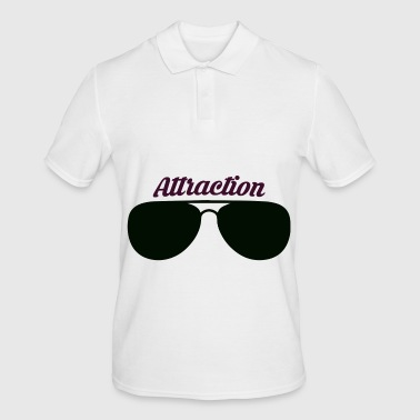 Attractive Sunglasses attraction - Men's Polo Shirt
