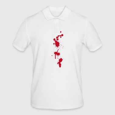 Bloodstain Bloodstains splashes Halloween zombies operating room doctor - Men's Polo Shirt