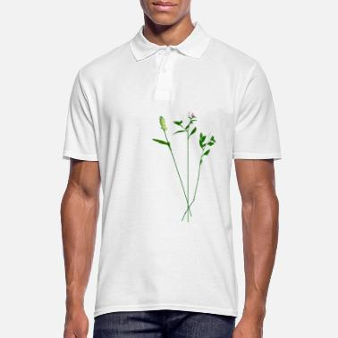 Herbe herbes - Polo Homme