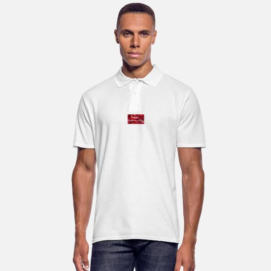 Happy Holidays Polo Shirts - Happy Mommy's Day - Men's Polo Shirt white